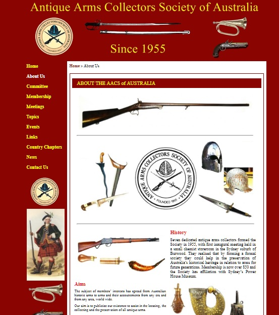 Antique Arms Collectors Society